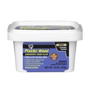 Dap 00529 Plastic Wood Latex Filler, 16 Oz