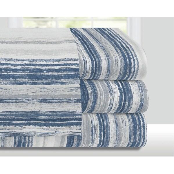 Billie Blue Stripe Bedding Sheet Set. Opens flyout.