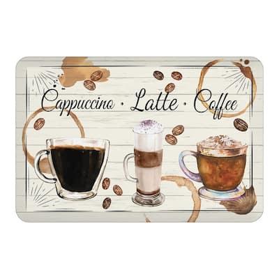 Coffee Café Floor Mat - 20x30