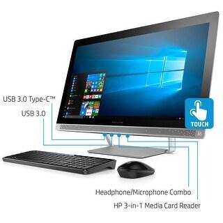 "HP ENVY 27"" UHD 3840 x 2160 Display, Core i7-7700T, 2TB HD/256GB SSD All-in-One Refurbished"