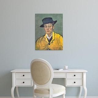 Easy Art Prints Vincent Van Gogh's 'Armand Roulin 1888' Premium Canvas Art