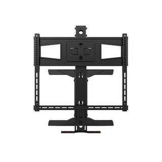 MonopriceAbove Fireplace Pull-Down Full-Motion TV Wall Mount