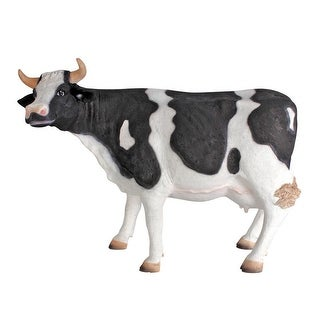 Design Toscano Holstein Cow Scaled Statue