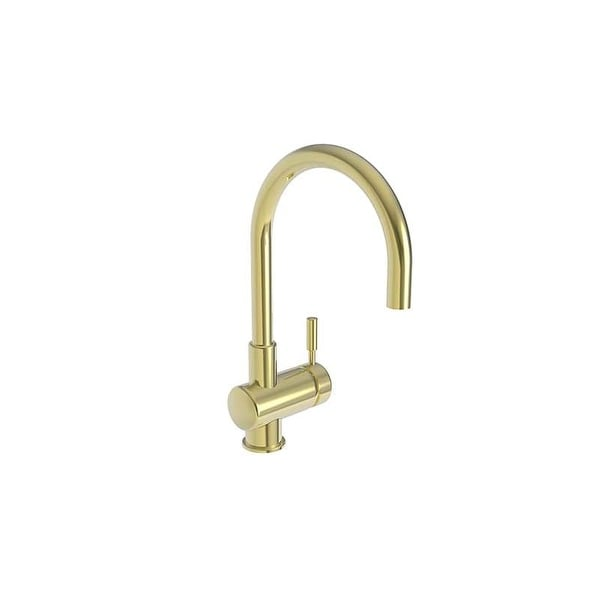 Newport Brass 2008 East Linear Single Handle WaterSense Certified Bar Faucet with Metal Lever Handle