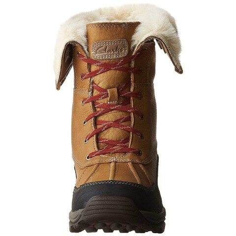 Clarks Womens Arctic Venture Closed Toe Mid-Calf Cold Weather Boots