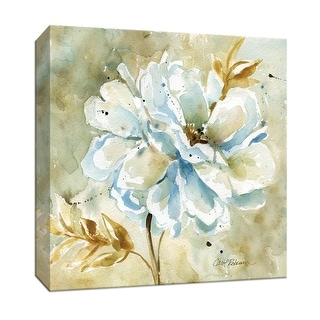 "PTM Images 9-147069  PTM Canvas Collection 12"" x 12"" - ""Dahlia"" Giclee Flowers Art Print on Canvas"