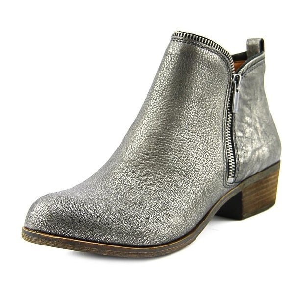 Lucky Brand Bartalino Women W Round Toe Leather  Ankle Boot