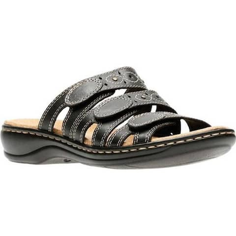 774a21248e4 Clarks Women s Leisa Cacti Black Leather