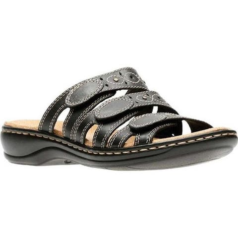 20b3768d189 Clarks Women s Leisa Cacti Black Leather