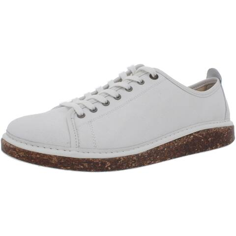 Birkenstock Womens Santa Cruz Casual Shoes Lace Trim Canvas - White