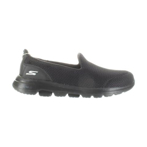 Skechers Womens Go Walk 5 Black Walking Shoes Size 6.5