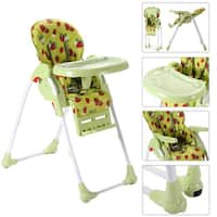 Adjustable Baby High Chair Infant Toddler Feeding Booster Seat Folding