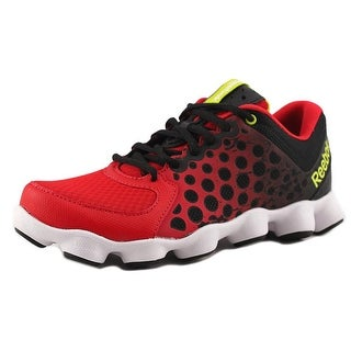 Reebok ATV 19 Youth Round Toe Synthetic Black Running Shoe