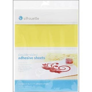 "Silhouette Double-Sided Adhesive Sheets 8.5""X11"" 8/Pkg-"