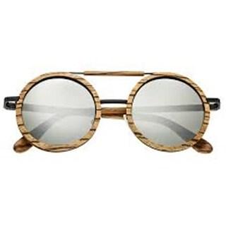 Earth Wood Sunglasses ESG003Z Bondi Unisex Sunglasses, Khaki