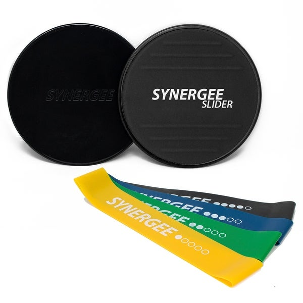 Shop Synergee Core Sliders With Foot Grips And Resistance