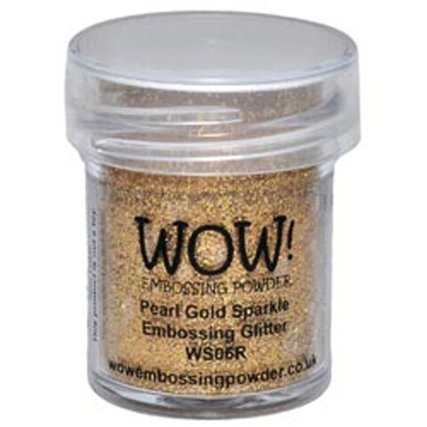 Pearl Gold Sparkle - Wow! Embossing Powder 15Ml