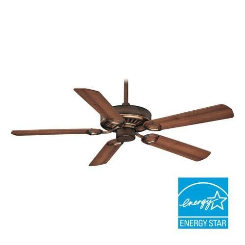 """MinkaAire Ultra-Max 5 Blade 54"""" Ceiling Fan - Wall Control, Handheld Remote Control and Blades Included"""