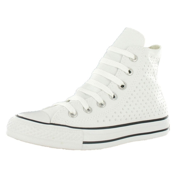 Converse Ct A/s Spec Hi White/silver Sz