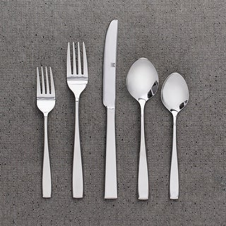"Link to Flatware Stainless Steel 40PC Set Nice - 9"" x 0'5"" Similar Items in Flatware"