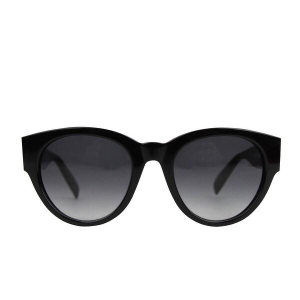 Alexander McQueen Unisex Spike Detail Black Acetate Sunglasses AM0054S 442136 1007 - One size. Opens flyout.