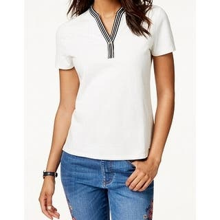 d96bf9ab Cotton Tommy Hilfiger Tops | Find Great Women's Clothing Deals ...