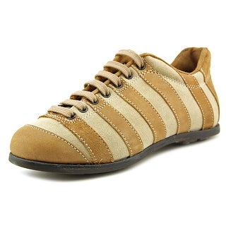 Pantofola d'Oro Samuel Youth Round Toe Canvas Tan Tennis Shoe