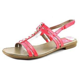 Easy Spirit e360 Karessa Open-Toe Patent Leather Slingback Sandal