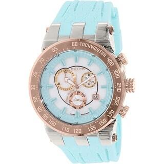 Mulco Women's Blue Marine MW5-93503-093 Rubber Fashion Watch