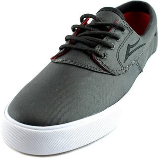 Lakai Camby Youth Round Toe Canvas Black Skate Shoe