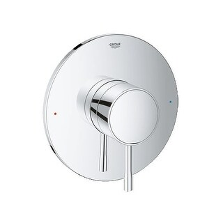 Grohe 19 347 1 Essence New Thermostatic Valve Trim with Lever Handle - Less Valve