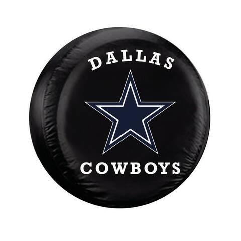 Dallas Cowboys Tire Cover Large Size Black