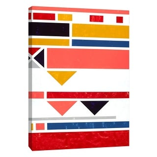 """PTM Images 9-108454  PTM Canvas Collection 10"""" x 8"""" - """"Voyage 1"""" Giclee Abstract Art Print on Canvas"""