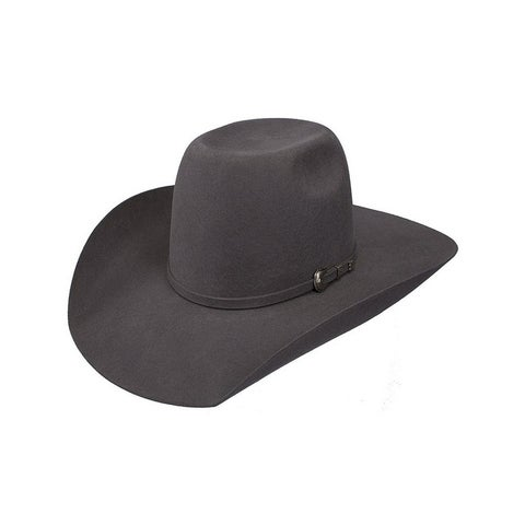 Resistol Cowboy Hat Boys Tuff Hedeman Pay Window Jr Gray - osfm