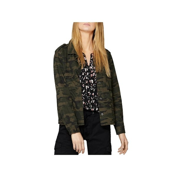 Shop Sanctuary Womens In The Fray Military Jacket Fall Camouflage - Free  Shipping On Orders Over  45 - Overstock.com - 23808178 ce9937a3d0