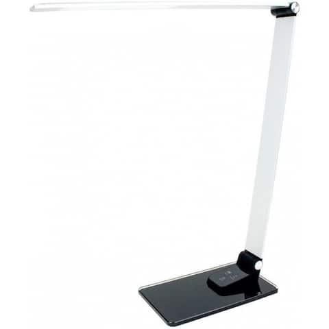 Newhouse Lighting WNHSX-BK Adjustable Desk Lamp, Gray