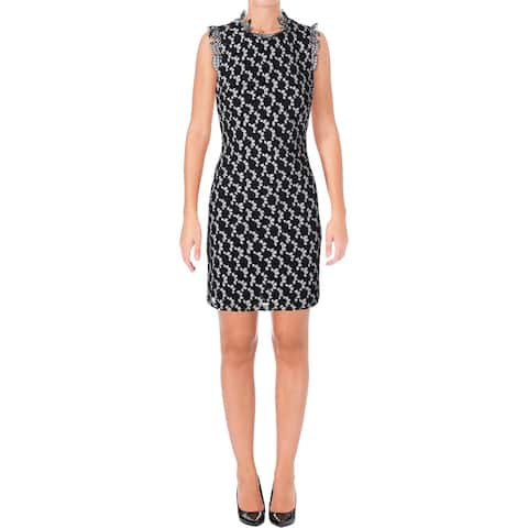 262b5674a1e Tommy Hilfiger Womens Cocktail Dress Lace Overlay Sleeveless