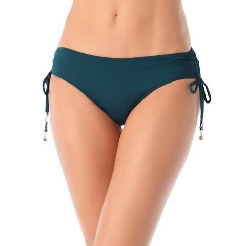 Anne Cole Womens Alex Hipster Side Tie Swim Bottom Separates