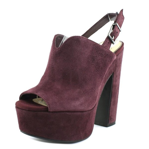 4f3e450fd Shop Jessica Simpson Rel Women Open Toe Suede Platform Heel - Free ...