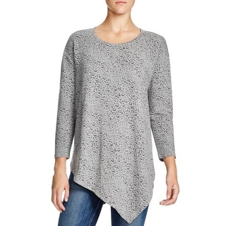 Soft Joie Womens Tammy T Pullover Sweater Modal Blend Asymmetric - xs