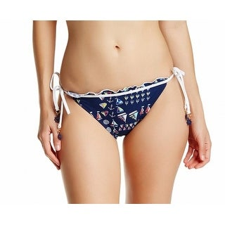 Sperry NEW Blue Women's Size Small S Side-Tie Bikini Bottom Swimwear