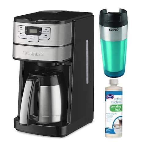 Cuisinart Blade Grind & Brew 10-Cup Thermal Carafe Coffeemaker Bundle