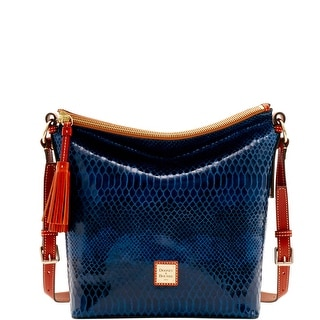 Dooney & Bourke Snake Small Dixon (Introduced by Dooney & Bourke at $268 in Nov 2016) - Blue