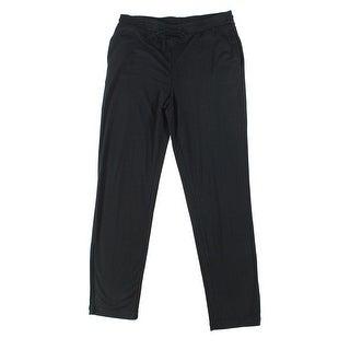N Natori NEW Black Womens Medium M Drawstring Knit Lounge Sleep Pants