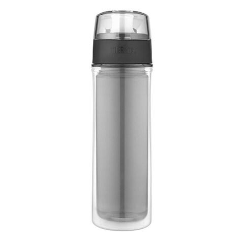 Thermos 18 Oz Double Wall Tritan Hydration Bottle (Smoke Grey)