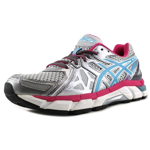 Asics Gel-Fortify Women Round Toe Synthetic Gray Running Shoe