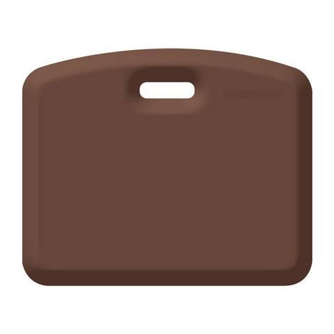 WellnessMats Anti-Fatigue Garage/Gardening Companion Mat, 18 Inch by 22 Inch, Brown