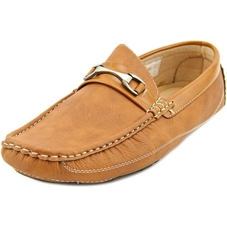 Bruno Homme Pepe-2 Men Round Toe Leather Tan Loafer