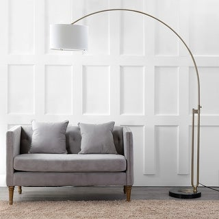 "Link to Safavieh Lighting 84-inch Polaris LED Arc Floor Lamp - 69.5""x16""x84"" Similar Items in Floor Lamps"