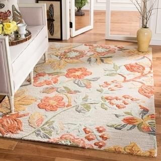 Safavieh Handmade Blossom Roseanna Modern Floral Wool Rug